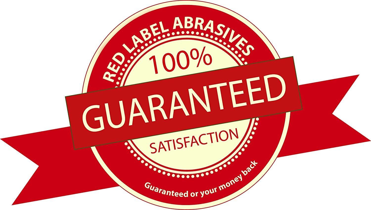 3 Pack Red Label Abrasives 4 X 24 Inch 36 Grit Aluminum Oxide Multipurpose Sanding Belts