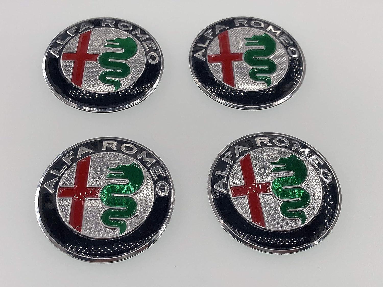 Adesivo per coprimozzo Alfa Romeo AOWIFT 4 x 56 mm