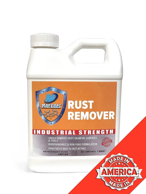 mavcoat Rust Remover Industrial強度すべてのメタルサーフェス 1クォート MCRR1QT B07596M9Q8   1クォート