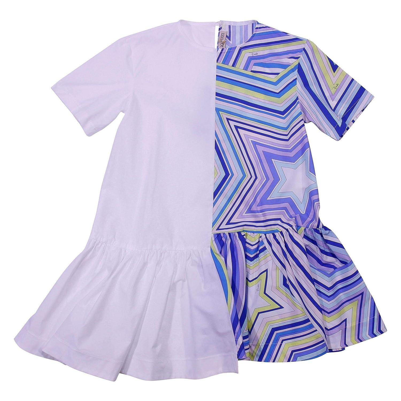 Emilio Pucci Fille 9K1061KA010100BL Violet Coton Robe