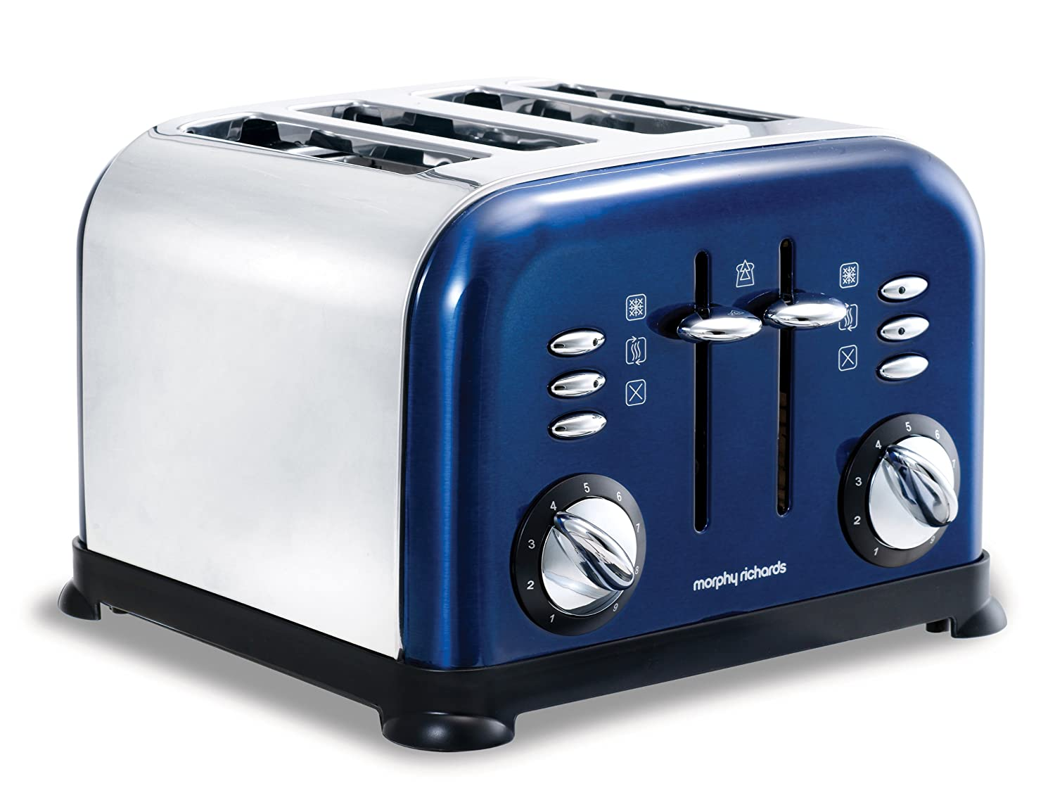 5l accents range only electricals co uk small kitchen appliances - Morphy Richards Accents 44730 4 Slice Toaster Blue Amazon Co Uk Kitchen Home