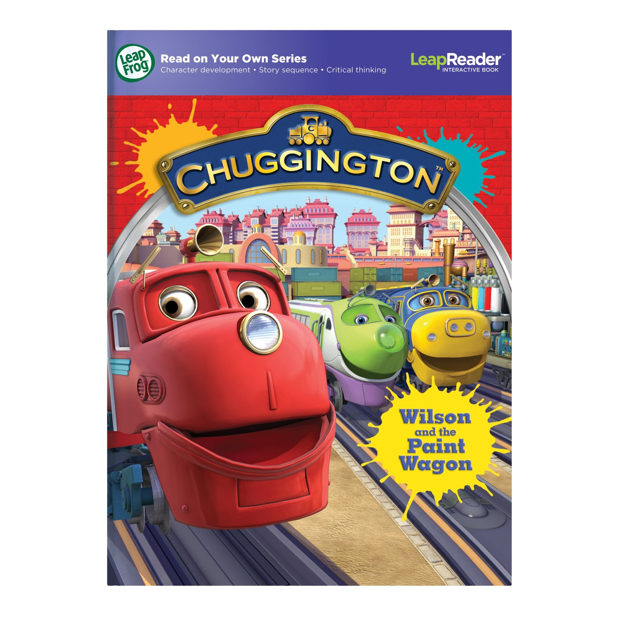 LeapFrog LeapReader Book: Chuggington: Wilson and the Paint Wagon (works with Tag) by LeapFrog (Image #8)