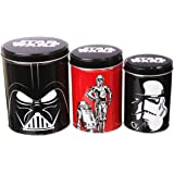 Boxed Star Wars Set Of 3 Canisters
