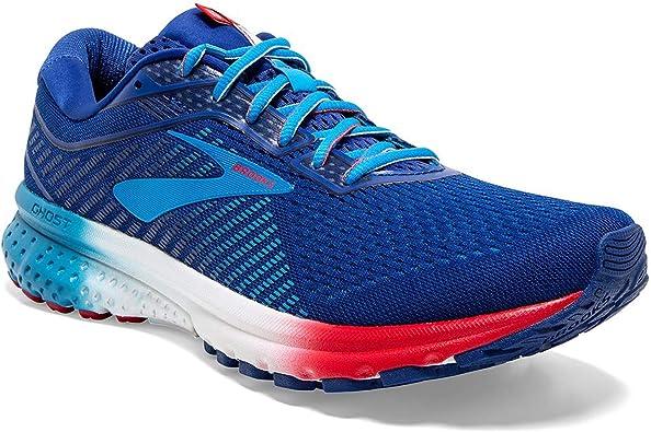 Brooks Ghost 12 Rocket Pop - Zapatillas de running para hombre, Azul (Rocket Pop), 42 EU: Amazon.es: Zapatos y complementos