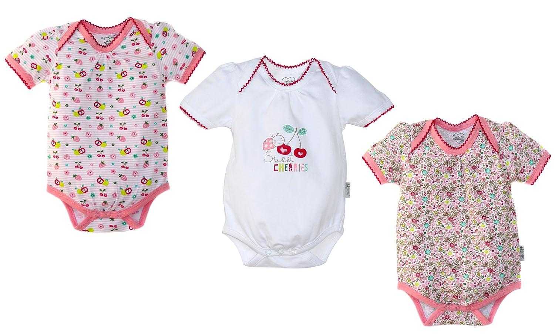 Set Baby Strampler Friends Mädchen NEU Baumwolle Größe 86