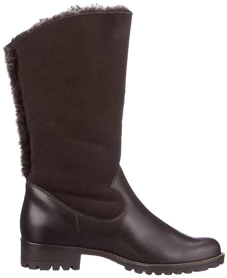 Semler Vanessa V20286-126-040 - Botas clásicas de cuero para mujer, color marrón, talla 39.5