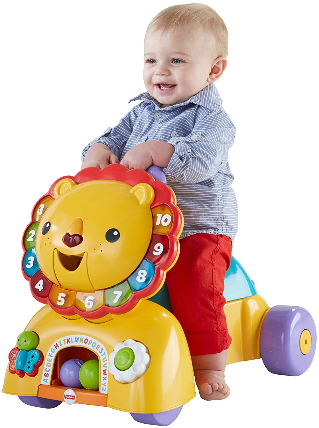Fisher-Price 3-in-1 Ride On Lion