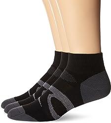 5e3578f50cbea ASICS Intensity Quarter Socks (3-Pack)