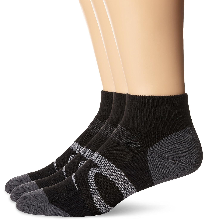 13ac2686a46e Amazon.com  ASICS Intensity Quarter Socks (3-Pack)  Sports   Outdoors