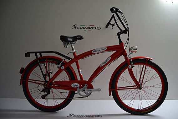 Cicli Ferrareis Bici Chopper Fat Bike 26 Cruiser Bike Custom Bike ...