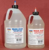 MAX CLR A/B Epoxy Resin System 1.5 Gallon Kit, FDA Compliant, Food Safe 4 Direct Contact Coating and Adhesive, Crystal…