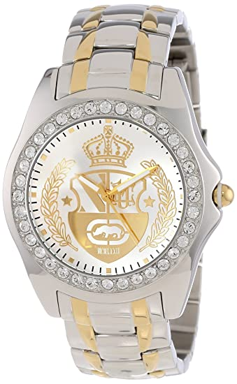 Amazon.com: Marc Ecko Mens E10561G1 Encore Oz Two Tone Stainless Steel Watch: Marc Ecko: Watches
