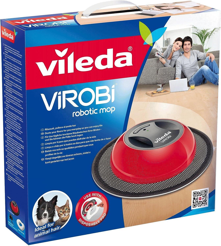 Vileda Virobi - Robot aspirador con dos programas de limpieza ...