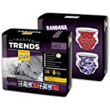 Pufies Trusted Trends Bandana - 56 Pañales, talla 4+, 9-16 kg