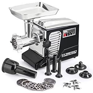 STX Turboforce II - Quad Air Cooling - Electric Meat Grinder