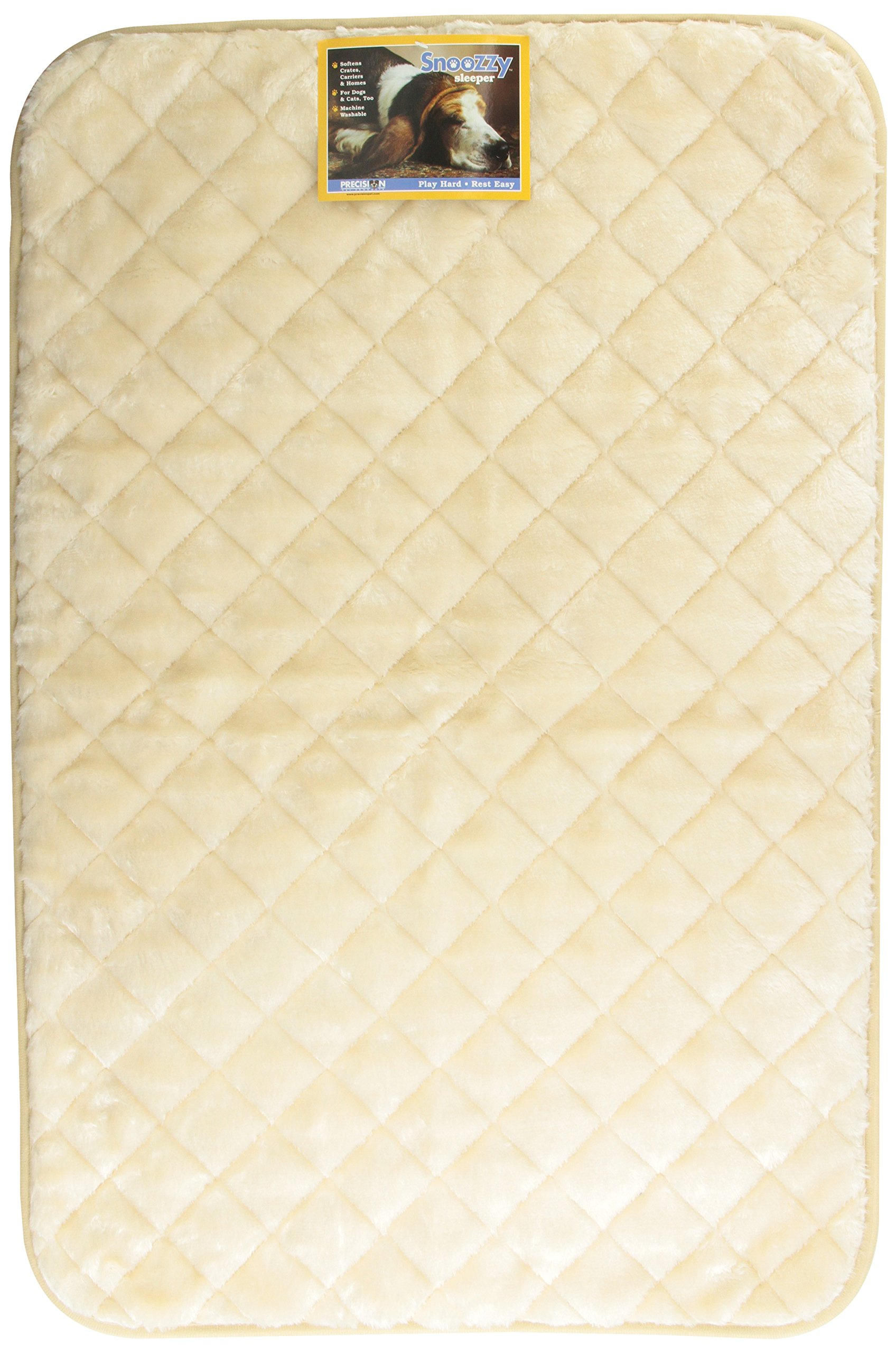 Precision Pet 4000 SnooZZy Sleeper Bed, 35 by 23-Inch, Natural