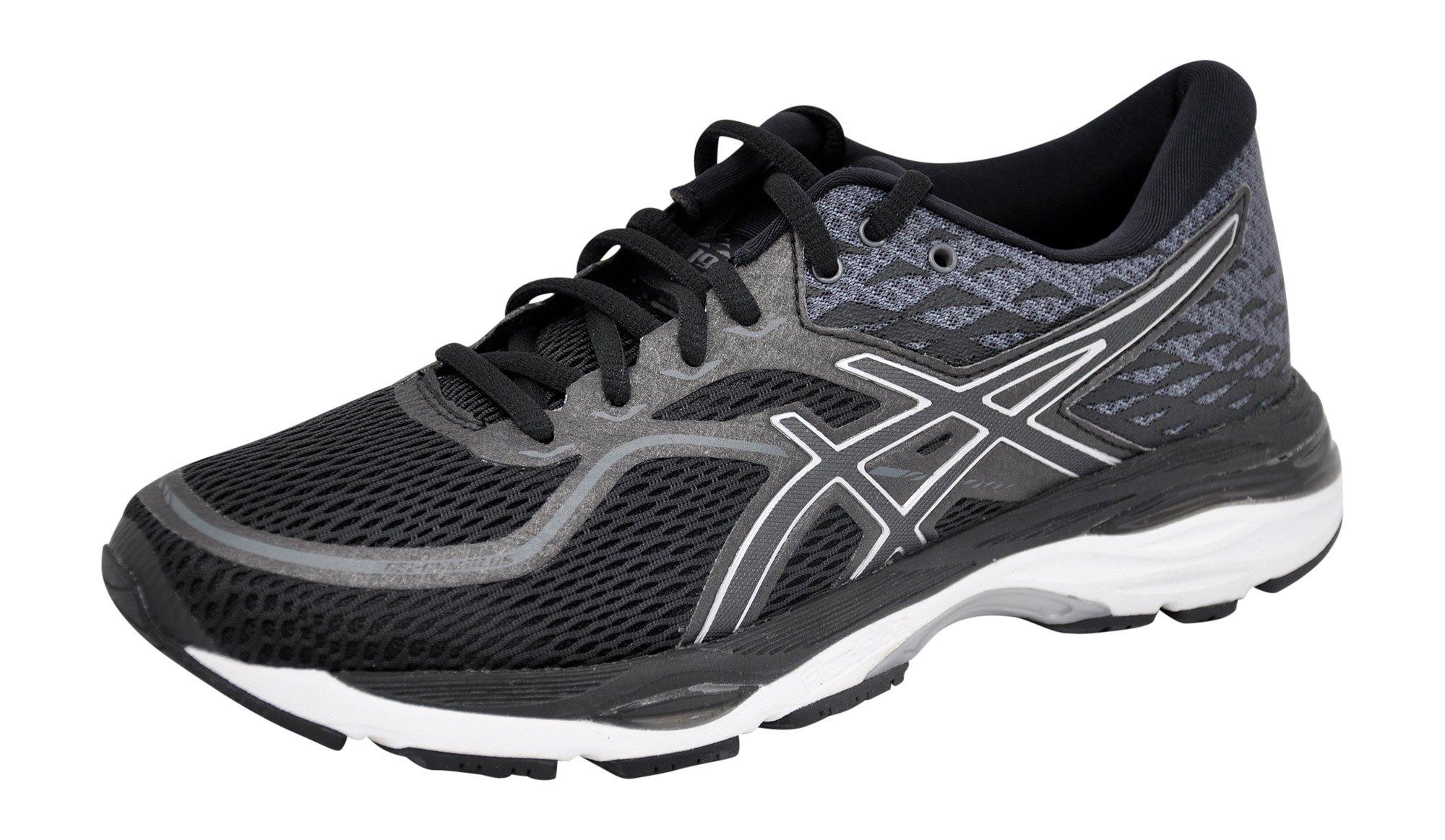 c75eefb4 ASICS Women's Gel-Cumulus 19 Running Shoe, Black/White/Black, 11 M US