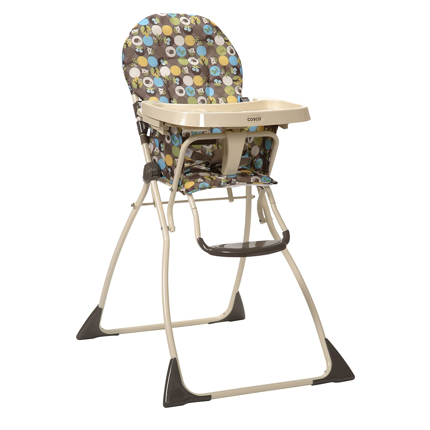 Groovy Cosco Flat Fold High Chair Into The Woods Evergreenethics Interior Chair Design Evergreenethicsorg