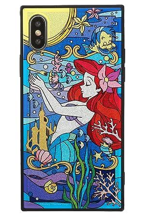 0bb250273a TILE ディズニー iPhone XS/X ケース ステンドグラス風 グリッター [アリエル]