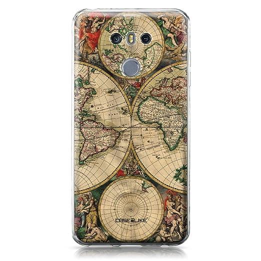 3 opinioni per CASEiLIKE Custodia LG G6 cover, Mappa del mondo Vintage 4607 Disegno Ultra