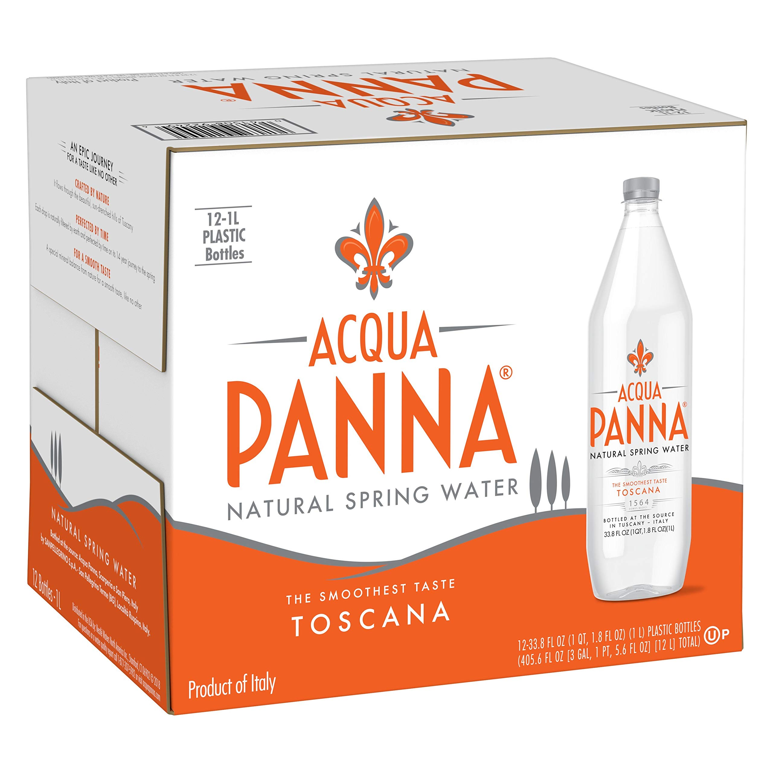 Acqua Panna Natural Spring Water, (33.8 Fl. Oz (24 Count))