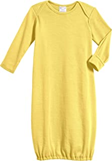 product image for 100% Cotton Baby Sleeping Bag Gown - Yellow - 3/6 m
