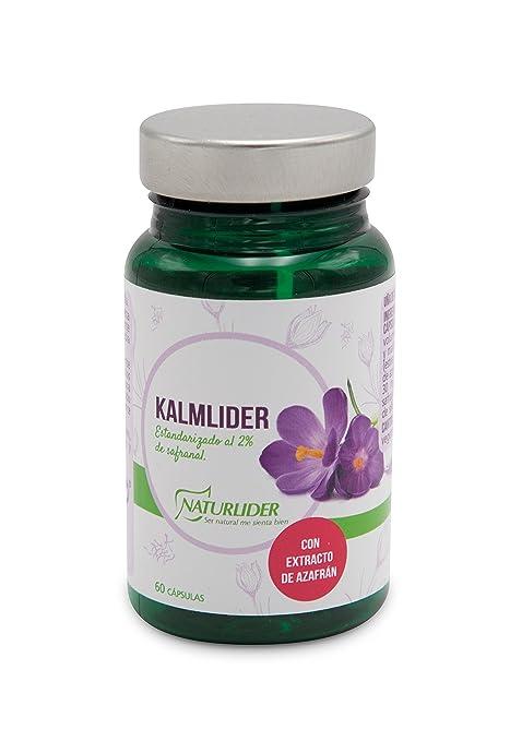 Naturlíder Kalmlider Extracto de Azafran estandarizado al 2%- 60 Cápsulas