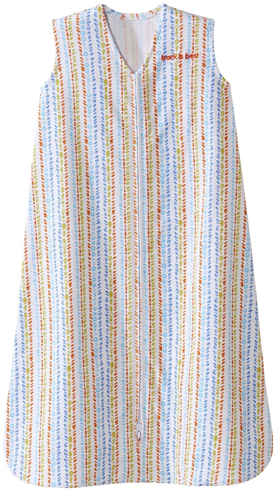 Halo SleepSack, 100% Cotton, Seaglass Fresh, Multi, Medium