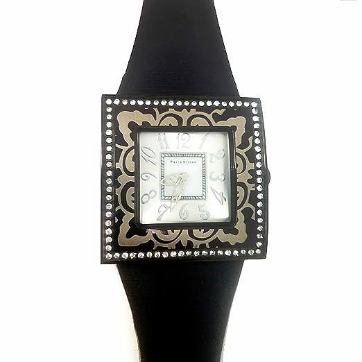 Paris Hilton reloj mujer 138432799 Piel Mujer Swarovski: Amazon.es: Relojes