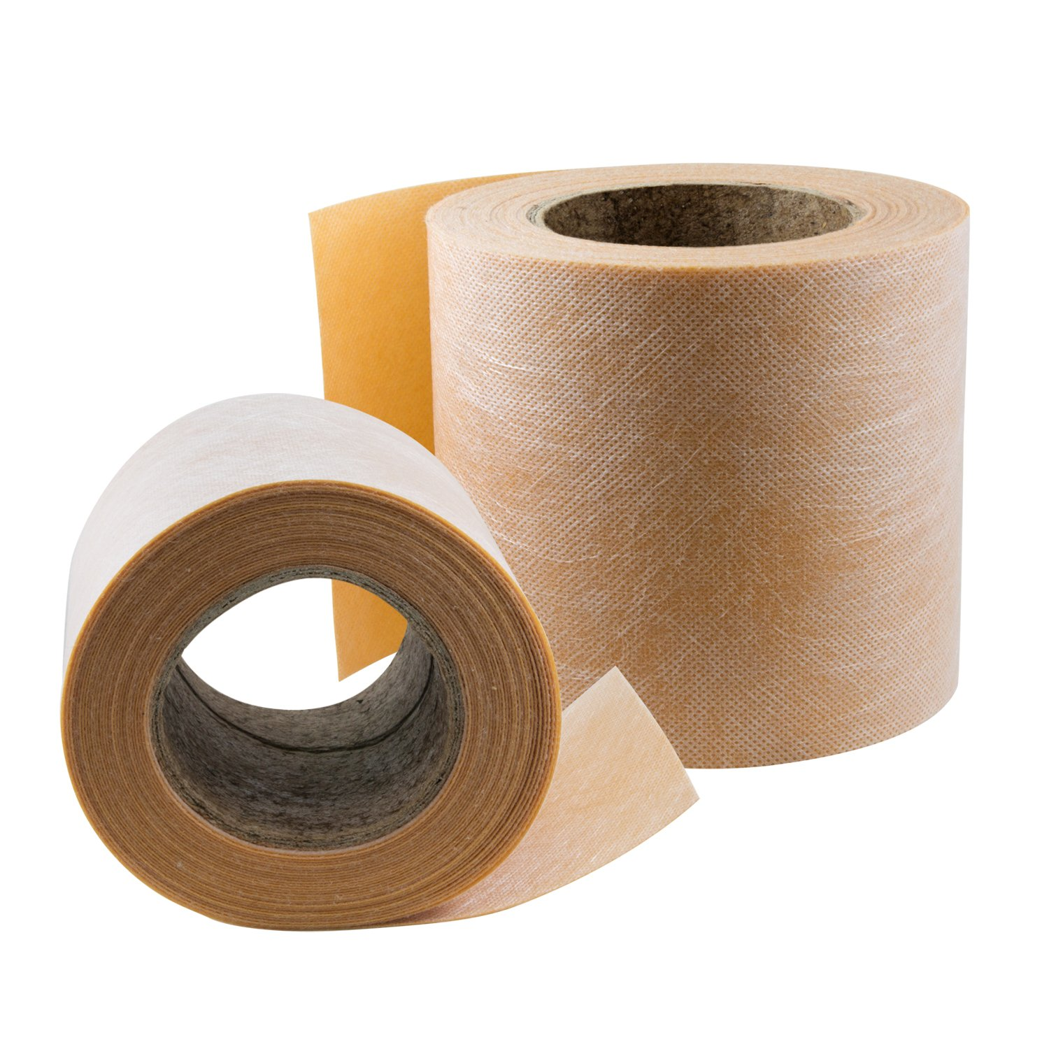 Houseables Shower Waterproofing Membrane, Floor Underlayment, 5''X33' Roll, 4MM Thick, Orange, Leak Prevention, Dry Seal Waterproof Band for Thin-Set Mortar, Tile, Bath, Steam Room