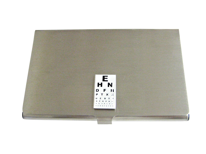 Unbordered長方形Optometristビジネスカードホルダー   B01IUWR4RQ
