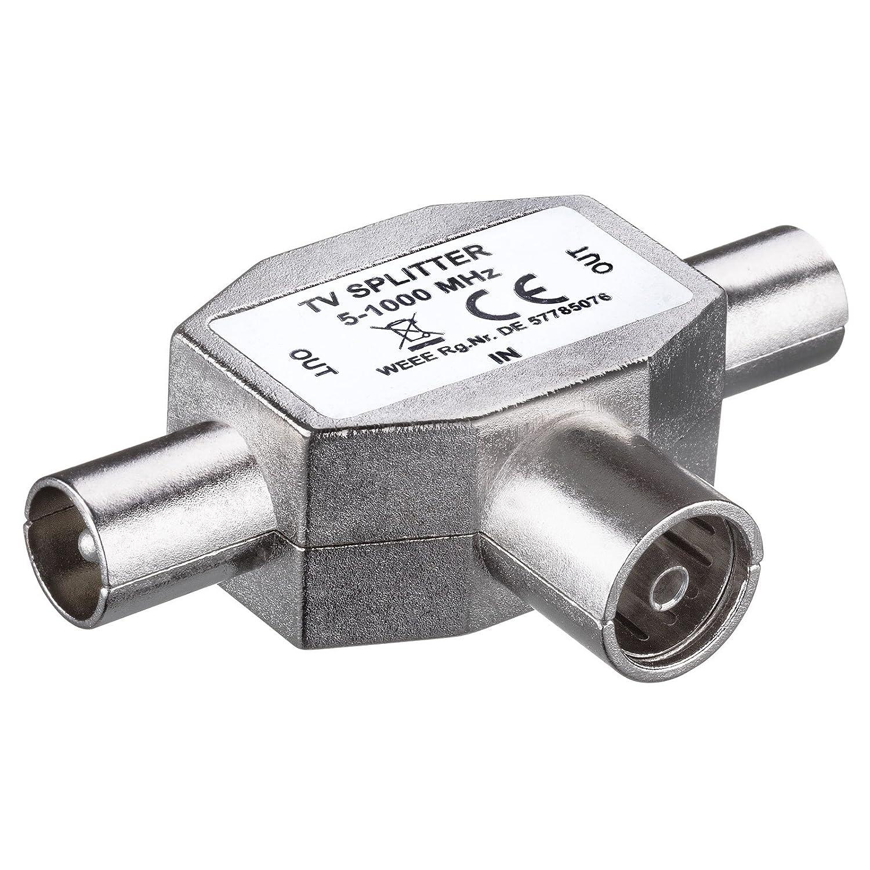 HB-DIGITAL TV-Verteiler | für Kabel- und: Amazon.de: Elektronik