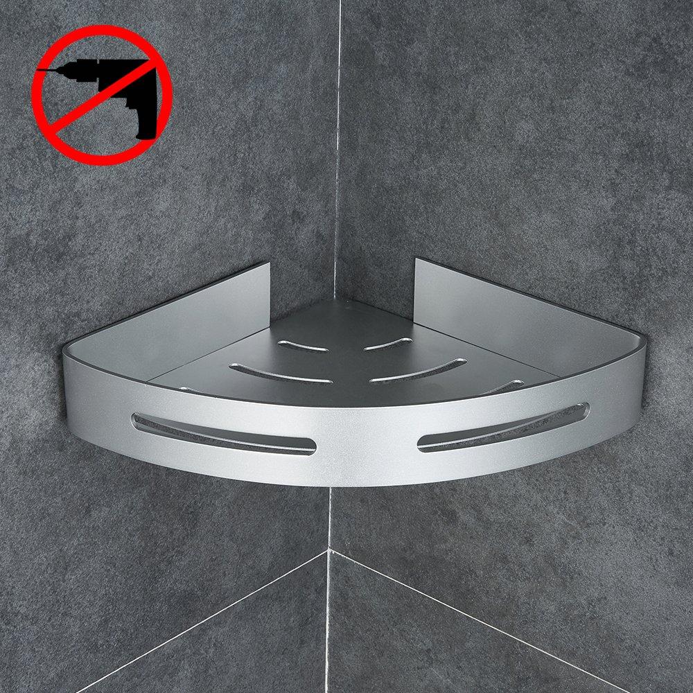 Gricol Bathroom Shower Corner Shelf Triangle Wall Shower Caddy Space ...