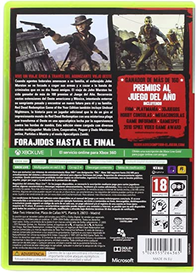 Red Dead Redemption Classics - Xbox one: Amazon.es: Videojuegos