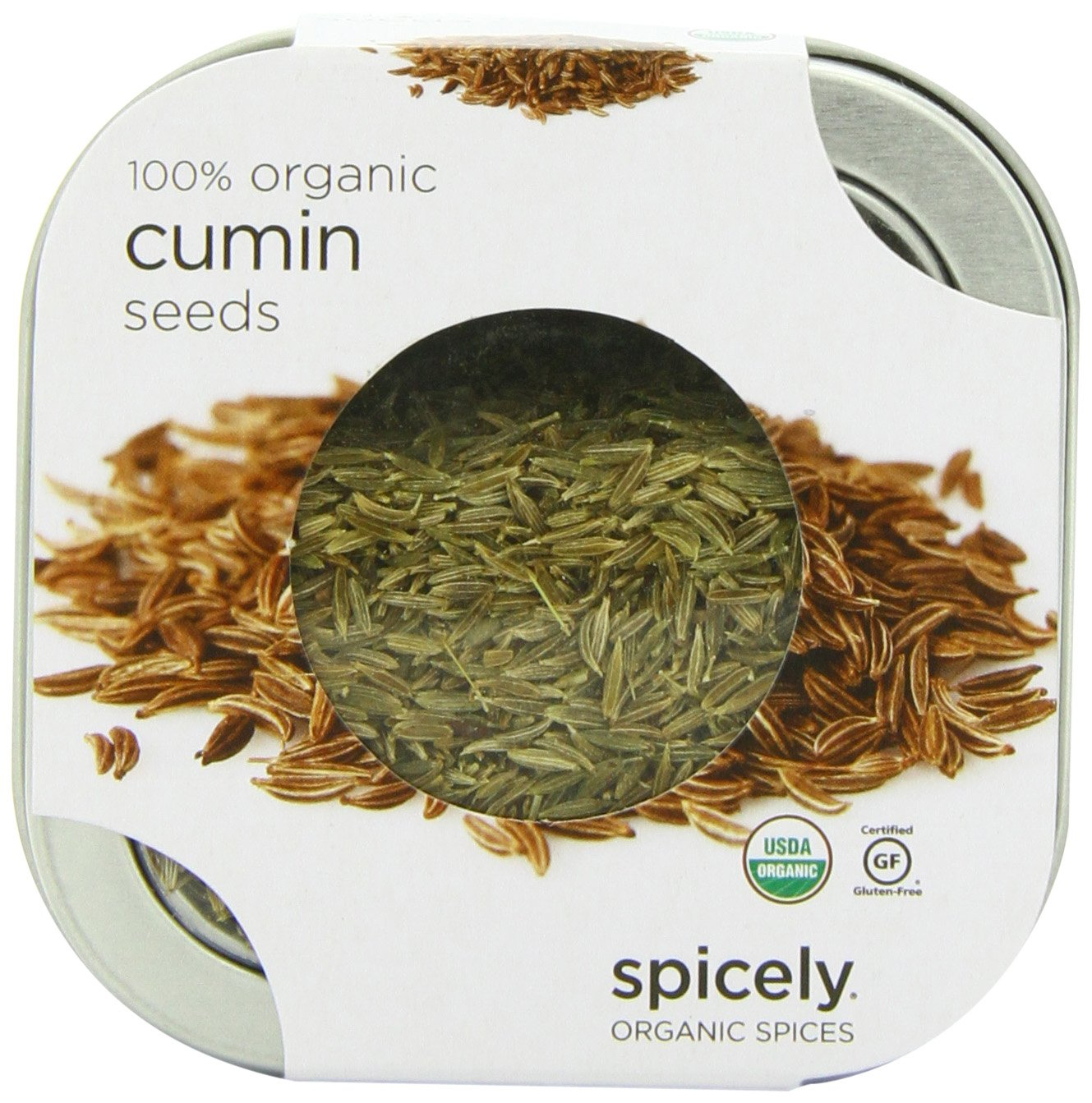Spicely Organic Cumin Whole - Tin
