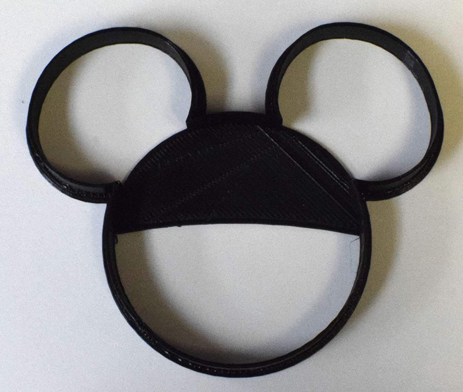 MICKEY MOUSE HEAD CARTOON CHARACTER COOKIE CUTTER FONDANT BAKING TOOL USA PR528S