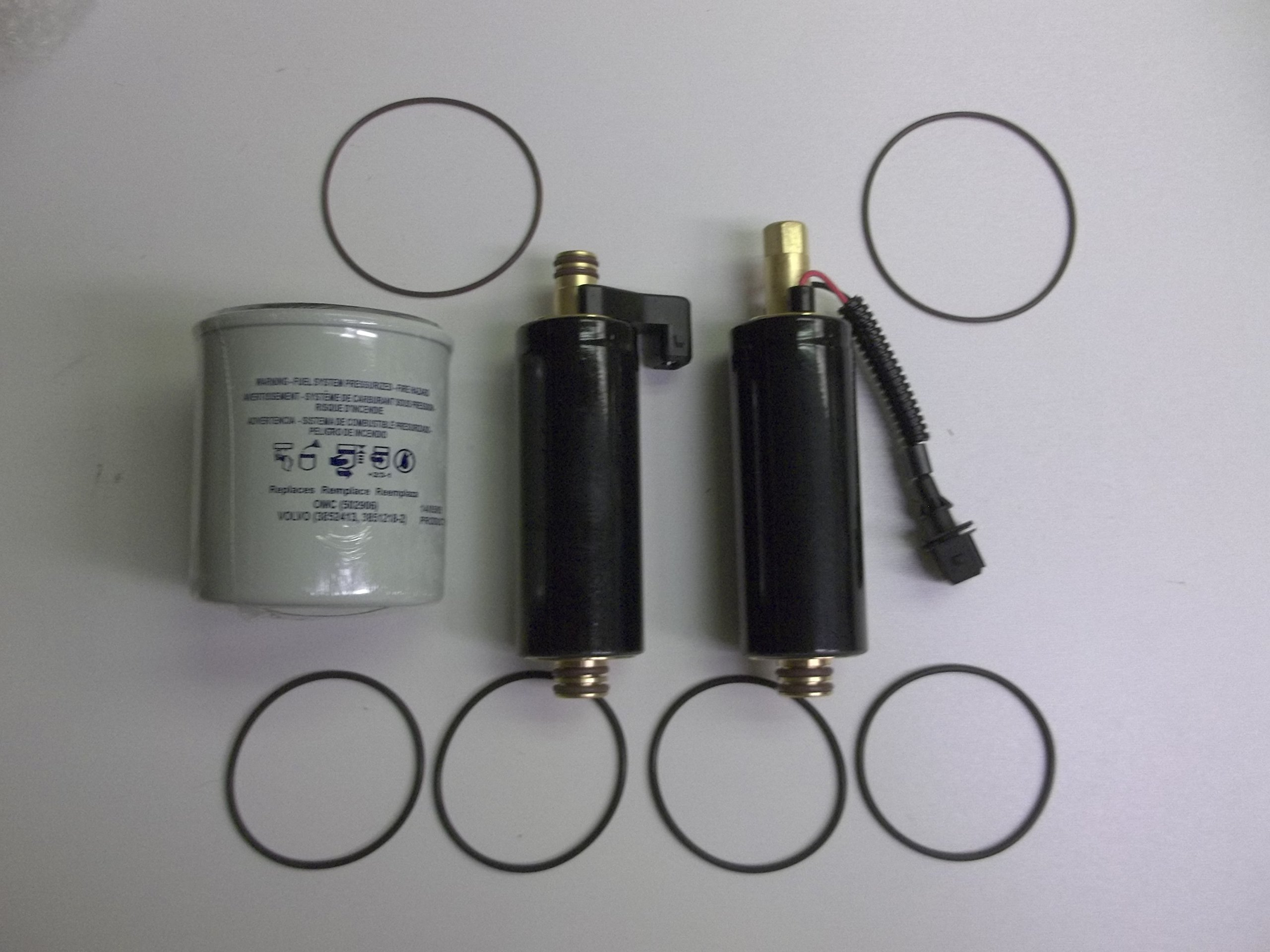 Electric Fuel Pumps for VOLVO PENTA 21608511 21545138 w/filter 4.3 5.0 5.7 GXI by Aftermarket