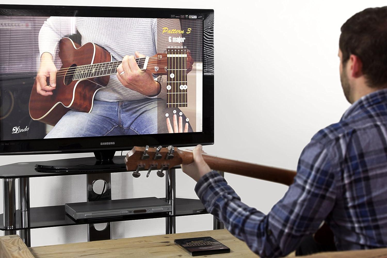 Lindo principiante guitarra acústica DVD con 12 lecciones de matrícula con ricos Weaver: Amazon.es: Instrumentos musicales