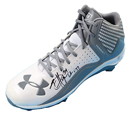 Image Unavailable. Image not available for. Color  Bryce Harper Philadelphia  Phillies Signed Autographed Under Armour Baseball Shoe Cleat e939991e799