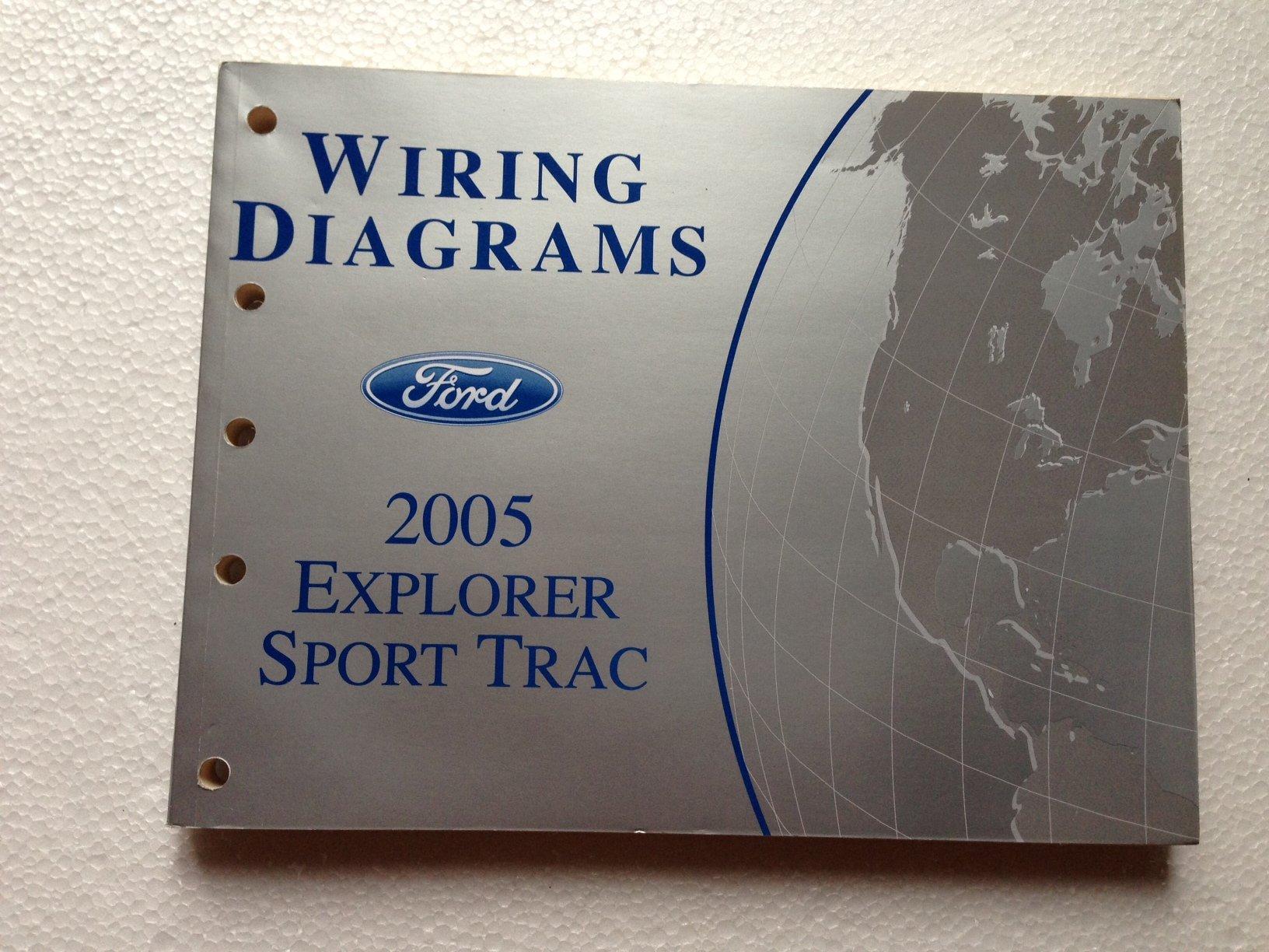 2005 Ford Explorer Sport Trac and Explorer Sport Wiring Diagram Manual: Ford:  Amazon.com: BooksAmazon.com