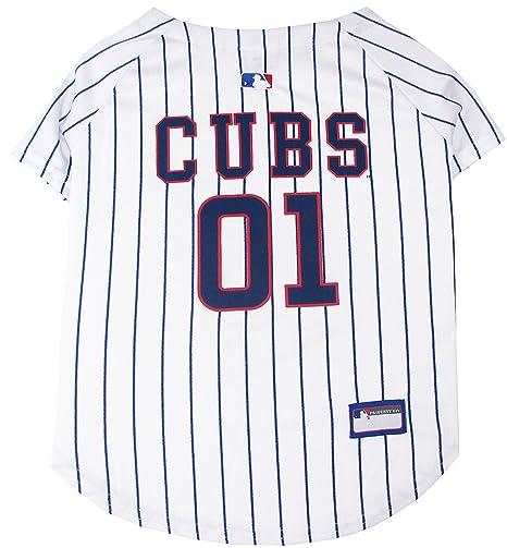 b11323612 Amazon.com   MLB Chicago Cubs Dog Jersey