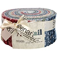 Abigail Pinwheel 40 2.5-inch Strips Jelly Roll Benartex