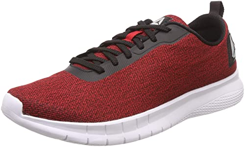 Tread Leap Black/Red Rush Running Shoes