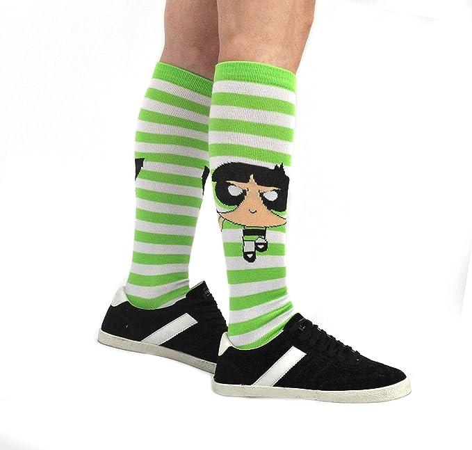 c38e66e9a Amazon.com  Powerpuff Girls Socks (3 Pair) - (Women) Blossom ...