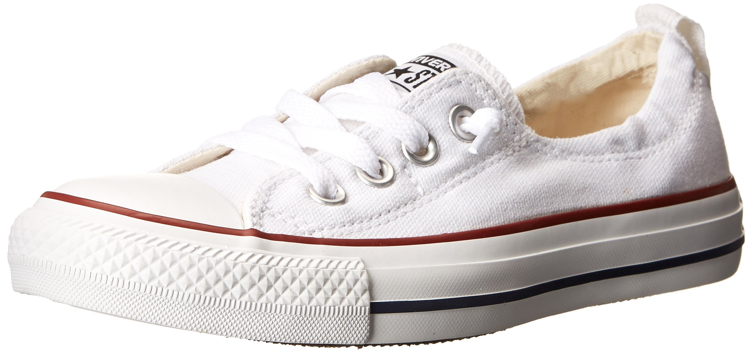Converse Chuck Taylor All Star Shoreline White Lace-Up Sneaker - 7 B(M) US