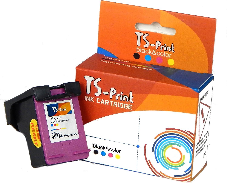 TS-Print 301XL 301 XL HP Remanufacturado Cartucho de Tinta ...