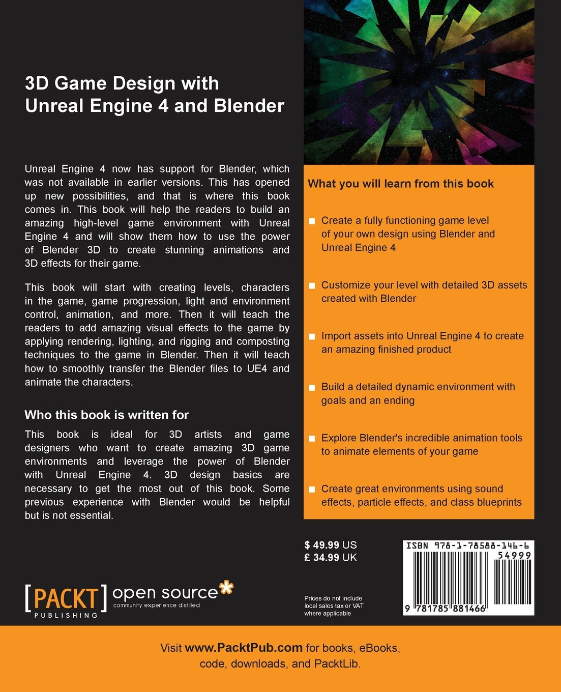3d game design with unreal engine 4 and blender amazon justin 3d game design with unreal engine 4 and blender amazon justin plowman libros en idiomas extranjeros malvernweather Images