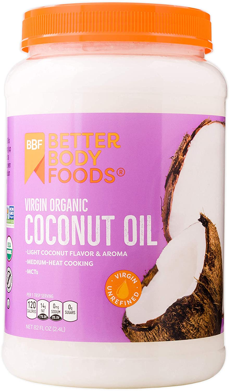 BetterBody Foods Virgin Coconut Oil, 82 Ounces
