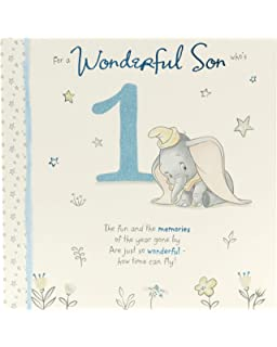 1st Birthday Card Son