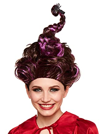 Spirit Halloween Hocus Pocus Mary Sanderson Wig For Adults Deluxe Officially Licensed Brown